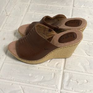 NWOB BOC by Born size 8 wedge sandals